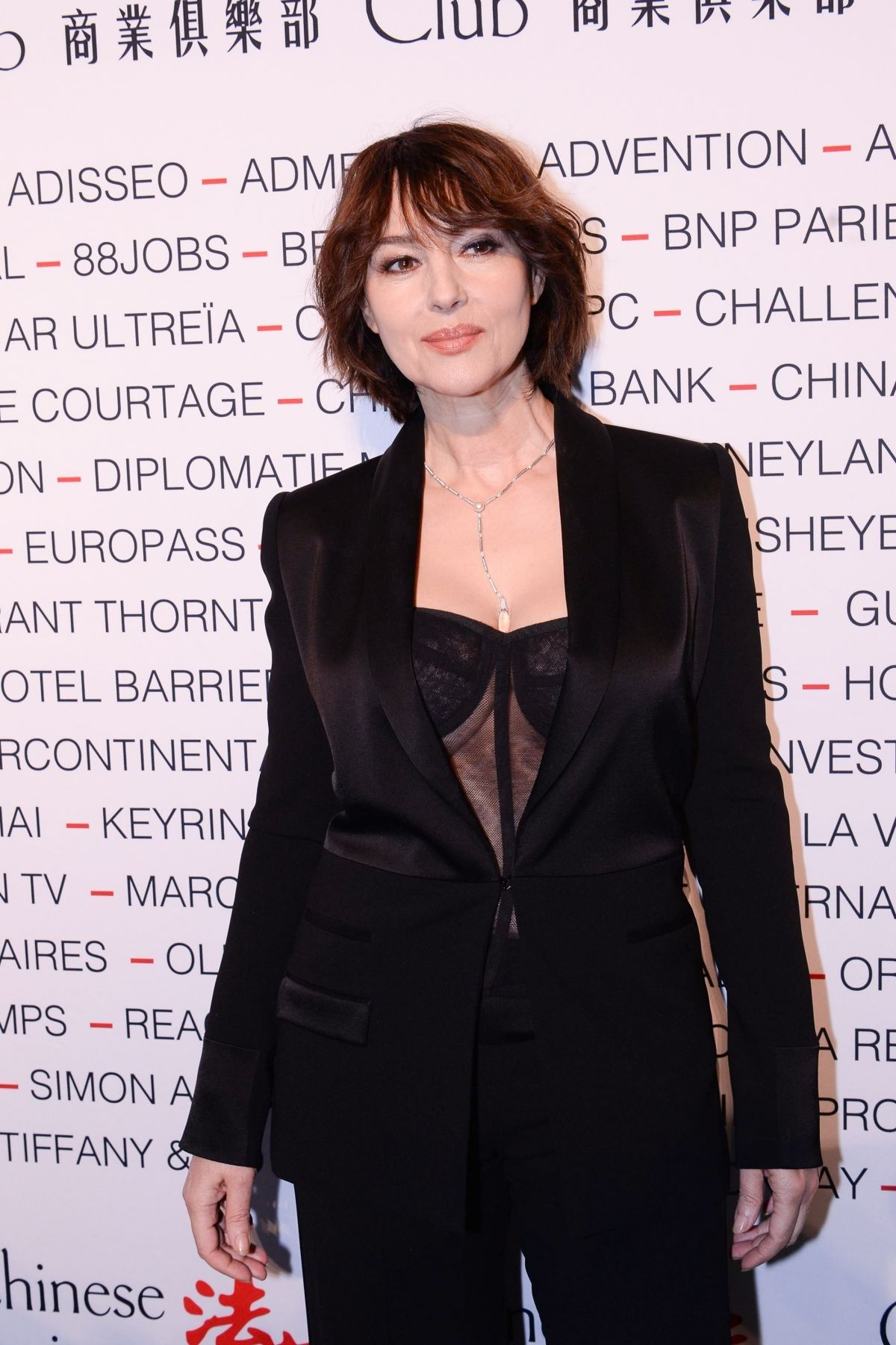 Monica Bellucci – Chinese Business Club Dinner in Paris 9 March, 2020