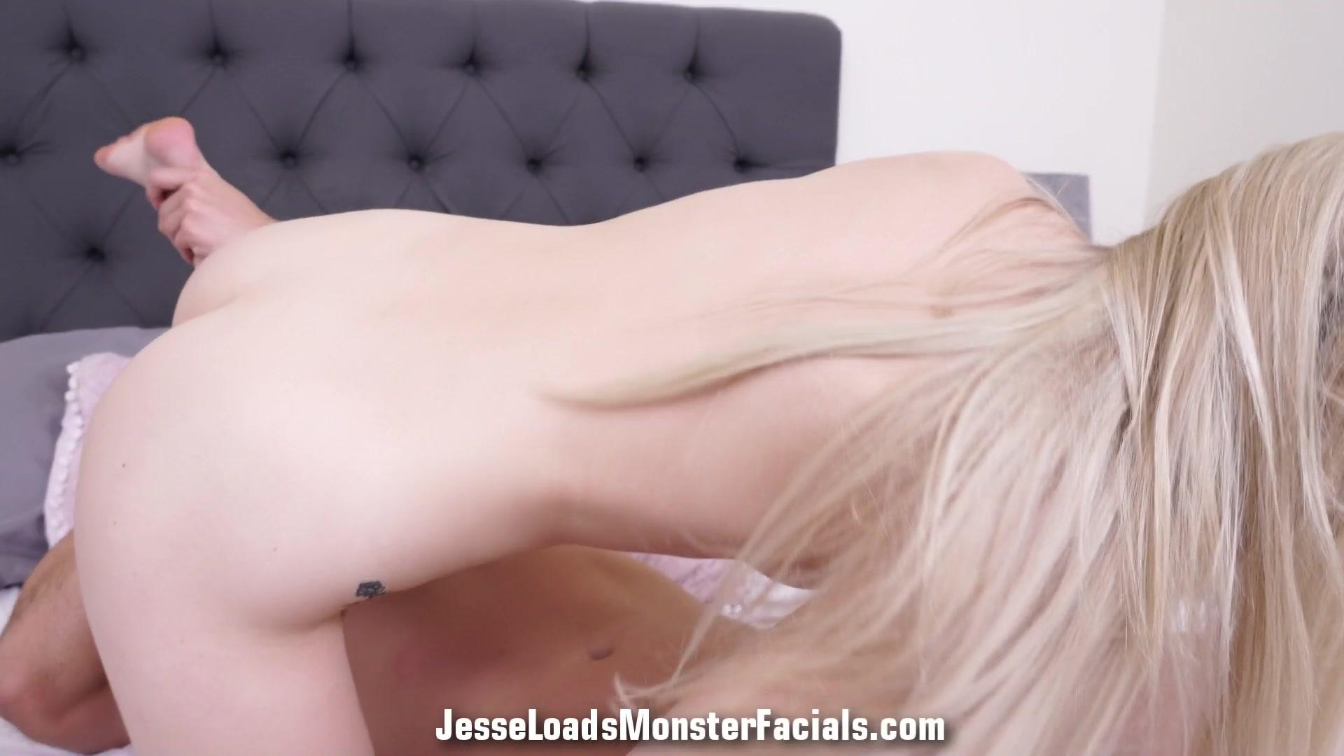 Jesse Loads Monster Facials – Lily Larimar